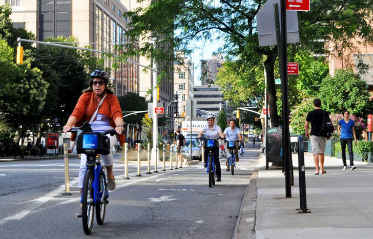 Are NYC Bike Lanes Actually Helping Cars Move Faster?