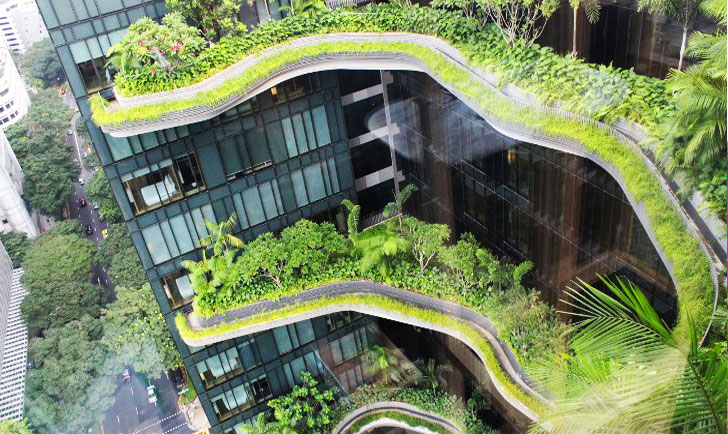Tour the PARKROYAL Hotel Singapore's Surreal Sky Gardens and  Greenery-Wrapped Towers (PHOTOS) | Inhabitat - Green Design, Innovation,  Architecture, ...