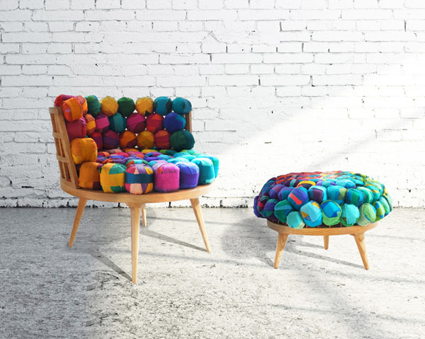 Meb Rure 39 S Colorful Chairs And Ottomons Make The Best Of