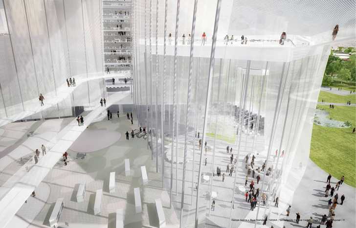 Sanaa wins competition to design the new taichung city cultural center inhabitat green design innovation architecture green building