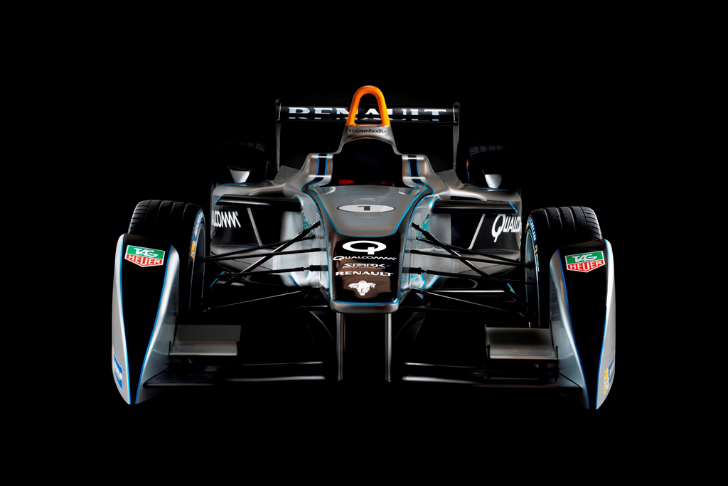 Formula E Unveils Blazing Fast Spark Renault Electric Race Car