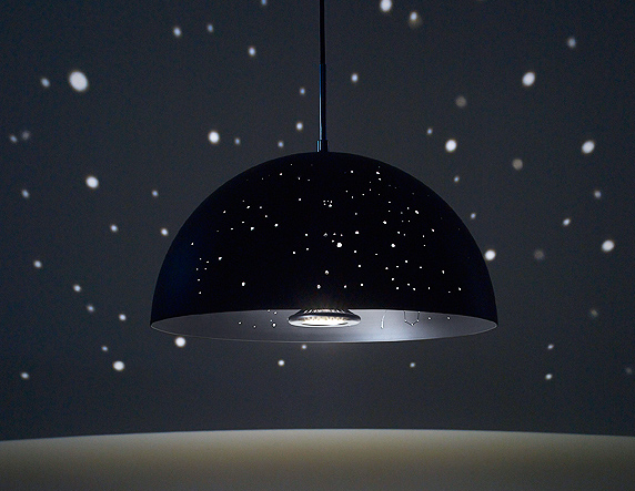 Anagraphics starry light led lamp casts constellations of stars displaying ad for 5 seconds aloadofball Image collections