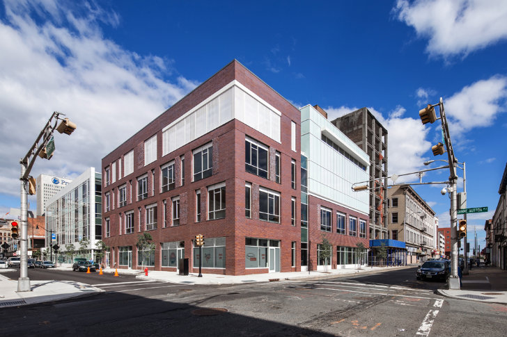 Richard Meier Completes The First Building In Newark S New