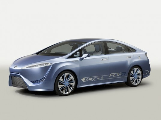 Toyota, Toyota FCV-R concept, Toyota fuel cell vehicle, fuel cell vehicle, toyota electric vehicle, toyota hybrid, hybrid, hydrogen, electric motor, fuel cell