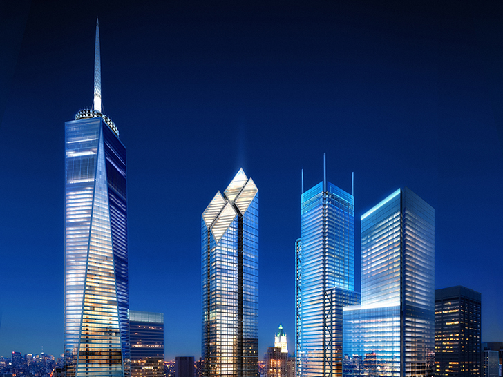 12 Years After 9/11 the New World Trade Center Finally Takes Shape