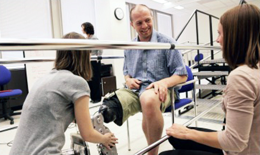 bionic leg, zac vawter, rehabilitiation institute of chicago, northwestern, prosthetic leg, robotic leg