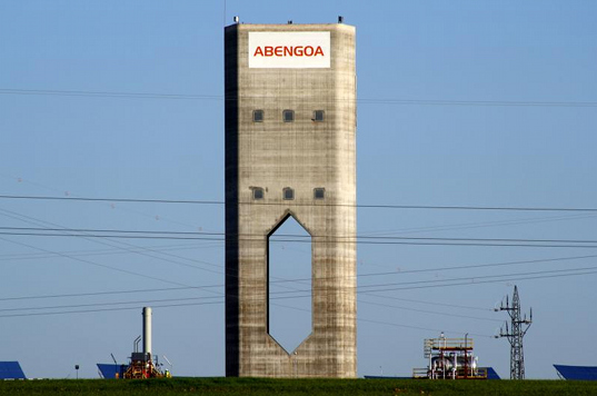 concentrating solar power, solar trough, solar tower abengoa, solar energy, green energy, south africa