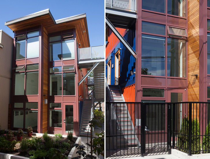 Shipping Container Social Housing Project Is A First For