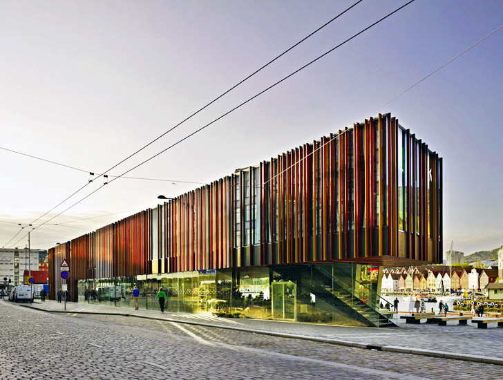 Stunning Modern Building Breathes New Life Into Bergen S Historic