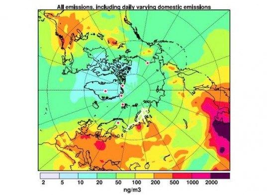green design, eco design, sustainable design, black carbon, Atmospheric Chemistry and Physics journal, oil drilling Arctic, Arctic Melt