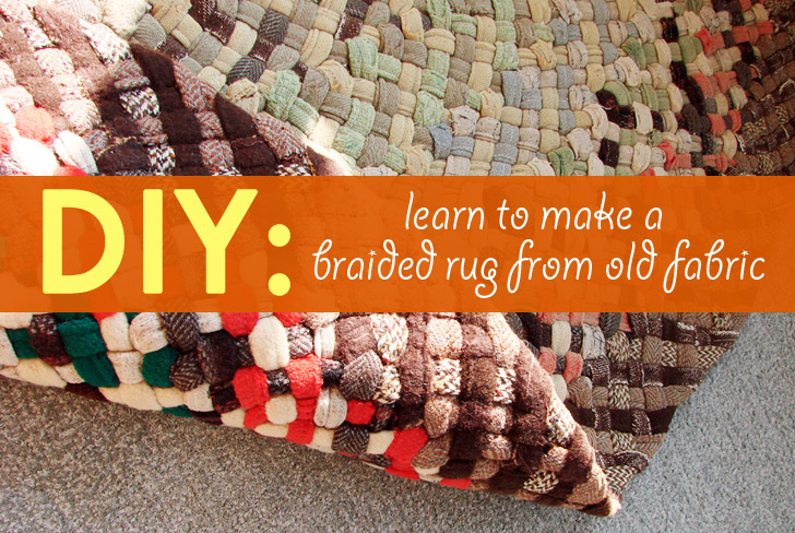 Diy Learn How To Make A Beautiful Braided Rug From Old Fabric