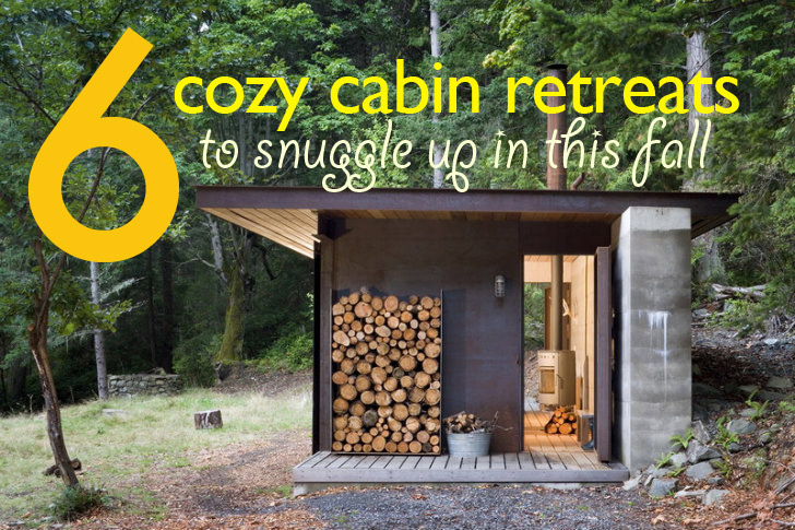 6 Cozy Eco Cabins To Snuggle Up In This Fall