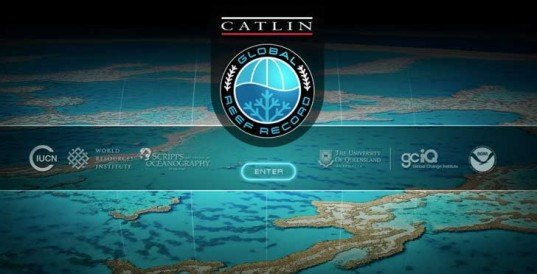 catlin global reef record, catlin seaview survey, coral reefs, habitat destruction, google street view, google maps, online resource