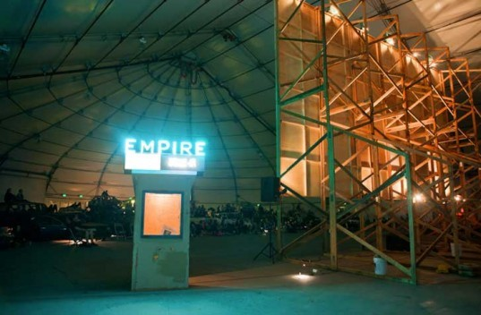 empire drive-in, jeff stark, todd chandler, salvaged materials, movie theater, junked cars, planned obsolescence, waste stream, car culture