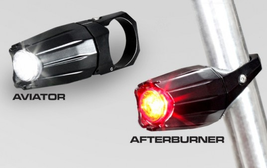 bike light, aviator, afterburner, fortified bicycle alliance, bike light theft, mit engineer, kickstarter campagin, bicycle safety, bicycle gear
