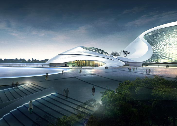 Mad Architects Glacial Structure Blends In To The Icy