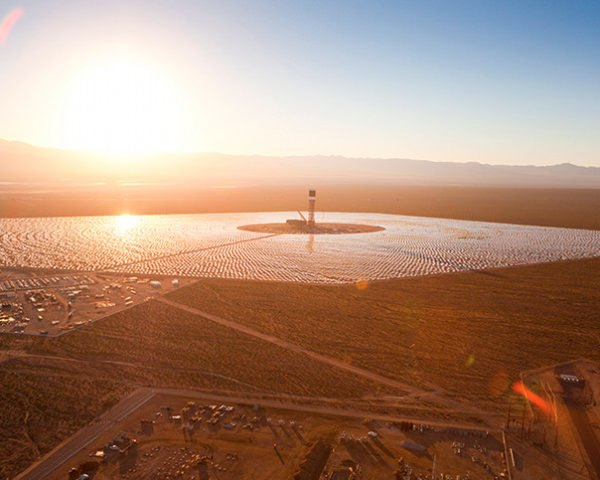 Ivanpah, BrightSource, Bechtel, Solar Thermal Energy, Solar Power, Solar Tower, Mojave, California Solar, Renewable energy
