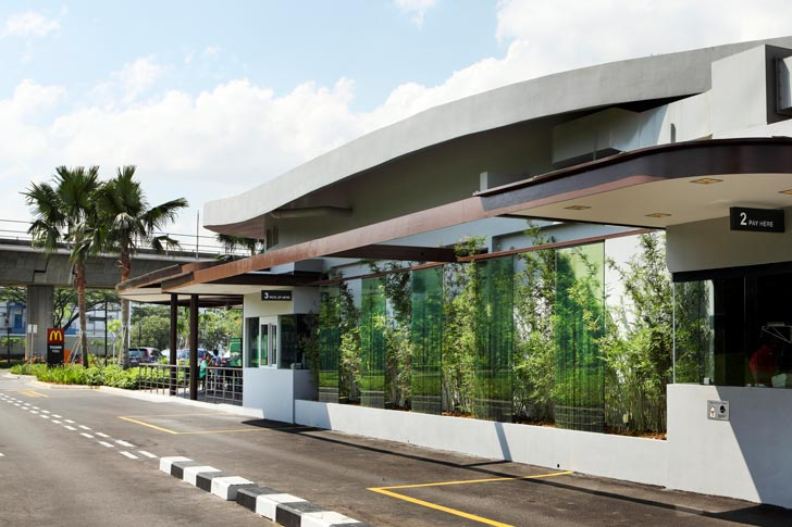 Singapore McDonalds Unveils a Green Roof Designed to Sustain Local ...