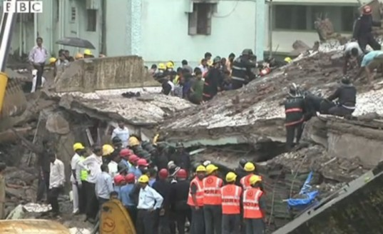 mumbai, india, building collapse, building standards, poor construction, dangerous building