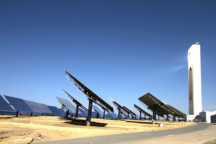 Khi Solar One Abengoa Installs South Africa S First