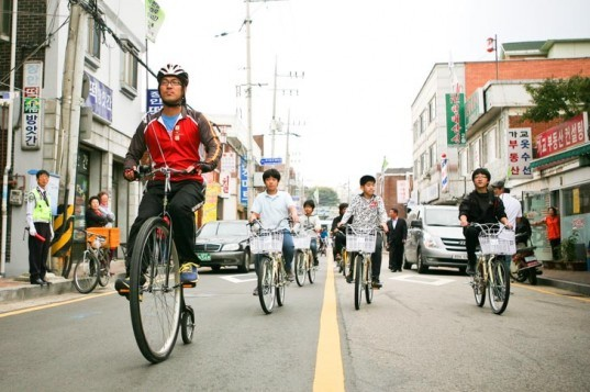 Ecomobility, Suwon, South Korea, Bicycle Design, Low carbon transport, green transport, city cycling