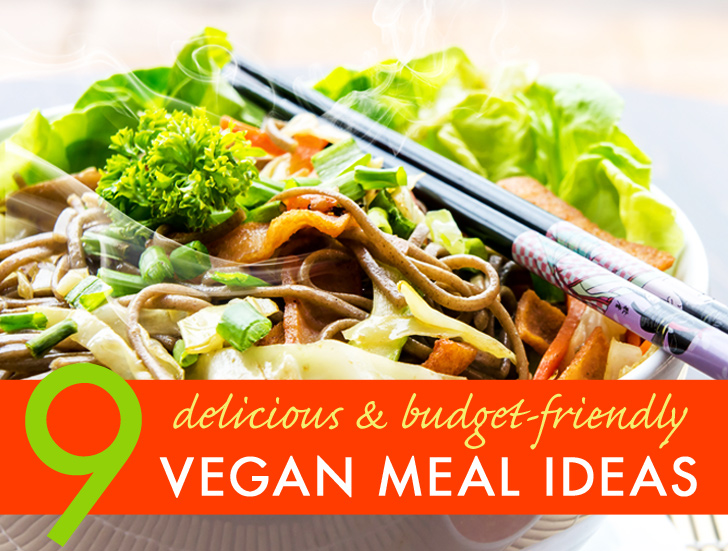 9 exceptionally delicious and easy vegan meals you can make on a environment forumfinder Choice Image