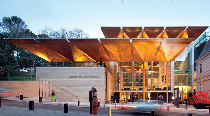 Gorgeous Auckland Art Gallery Scoops Building of the Year at the World Architecture Festival