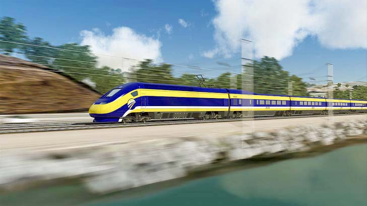 California Breaks Ground on the First High-Speed Railway in the United States