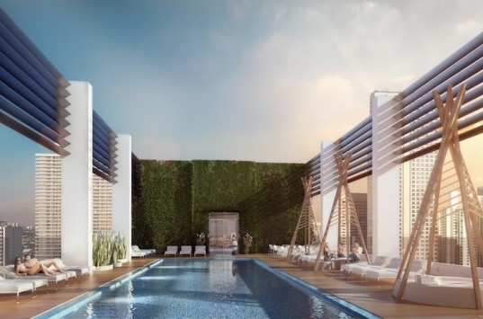 Yves Béhar, The Centro, walkable urbanism, walkability, walkable miami, downtown miami, luxury condo, residential tower, garage-free, car2go, bikeshare, electric vehicles,