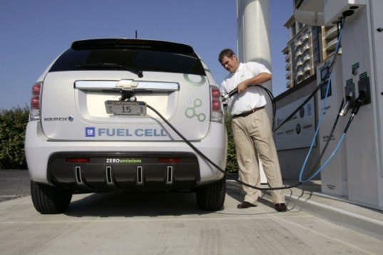 General Motors, Chevrolet, Chevrolet Equinox, GM fuel cell vehicle, Chevy fuel cell vehicle, fuel cell vehicle, hydrogen, hydrogen car, green car, fuel cell SUV