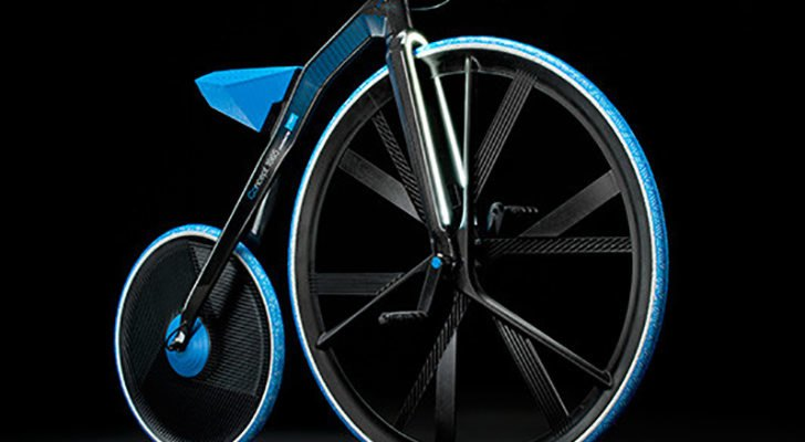 e750facb58c E-Velocipede: Electric Version of World's First Bicycle Rides Like it's 1865