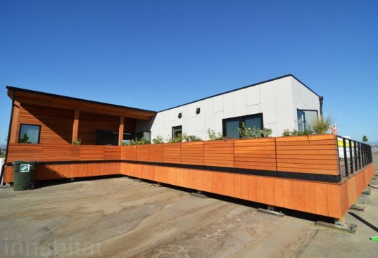 Stevens Institute's Ecohabit Home Stands Out with Photovoltaic Shingles at the Solar Decathlon 2013
