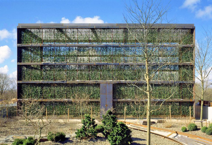 Atelier Kempe Thill S Living Hedge Building Is Completely