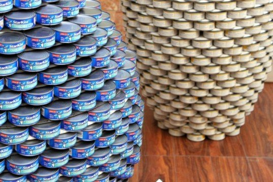 canstruction, architecture and the city festival, san francisco, social responsibility, public art, charity, canned goods