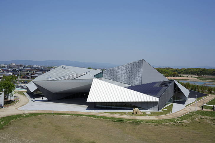 Kengo Kumas Folding Art Museum Takes Inspiration From Origami And