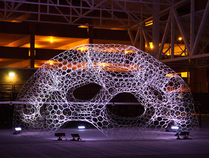 Architecture & Solar-Powered SOL Dome Lights Up in Response to Atmospheric Carbon ...