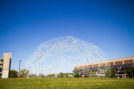 Solar Powered Sol Dome Lights Up In Response To