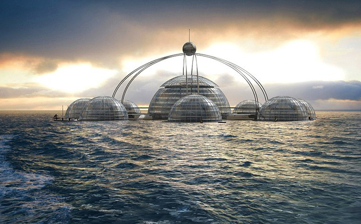 Self-Sufficient Sub-Biosphere 2 Houses 100 People Under the Sea | Inhabitat  - Green Design, Innovation, Architecture, Green Building
