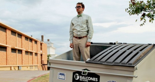 Dumpster, Trash Heap, Garbage, Home, Net Zero, Sustainable Living, Jeff Wilson, Huston Tillotson University, Austin, Texas, Dumpster Project, University Research,