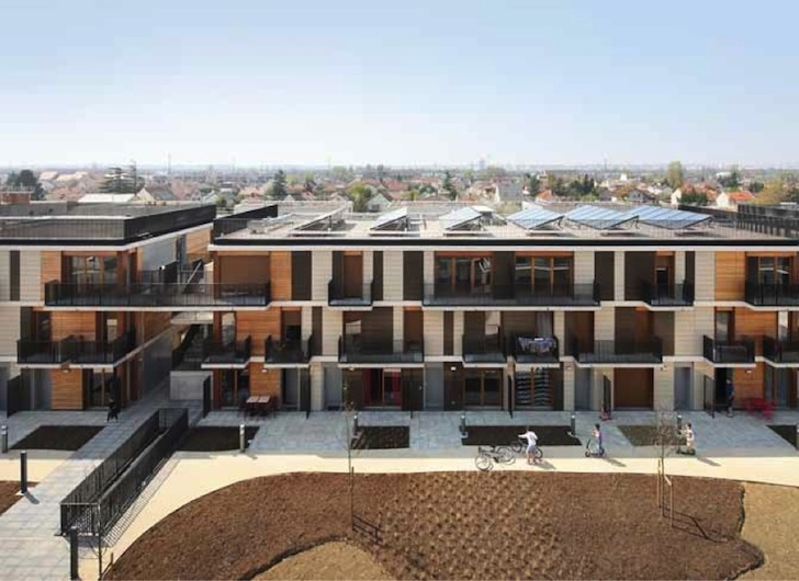 Gelin Lafon Architects Affordable Mixed Use Housing Project Is A