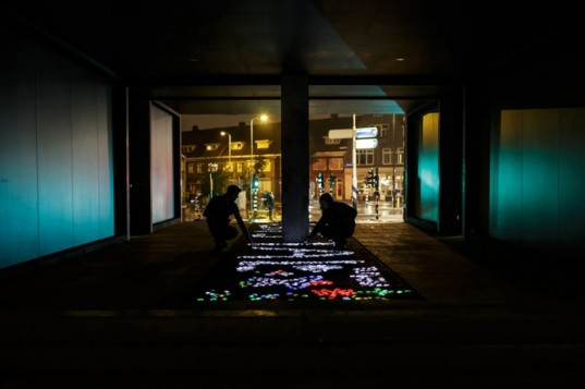 green design, eco design, sustainable design, Daan Roosegaarde, Lego from Mars, Crystal LED installation, Dutch Design Week, Philips Physics Laboratory