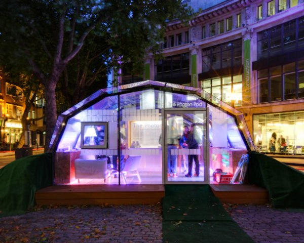 The Photon Pod, phillips, oxford university, cantifix, photon project, daylighting, lighting, design for health