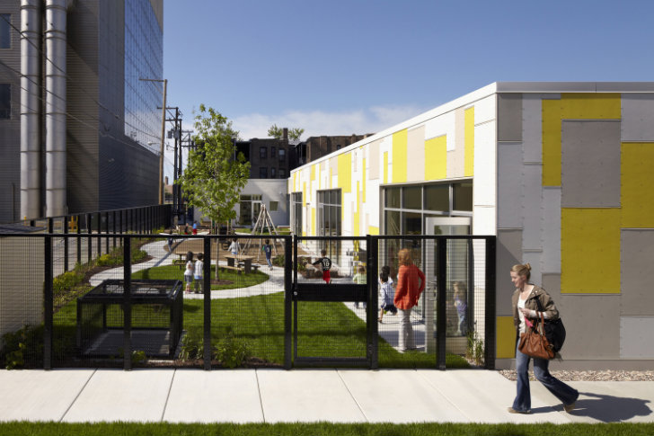 University of Chicago's Daylight-Filled Early Childcare