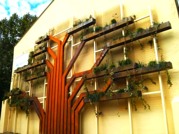 Urbanarbolismo Completes Vertical Tree Garden In Northern Spain | Inhabitat    Green Design, Innovation, Architecture, Green Building