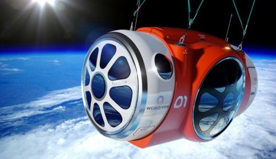 green design, eco design, sustainable design, space tourism, World View, space travel, Virgin SpaceShipTwo