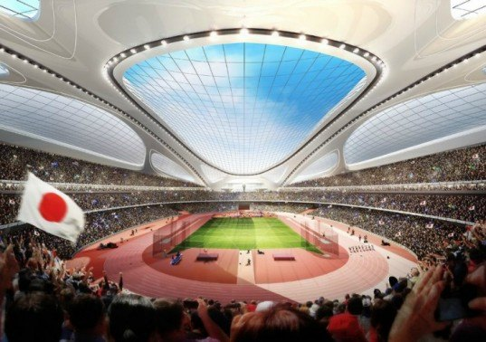 Re-thinking the New National Olympic Stadium in the Historical Context of Gaein,green design, eco design, sustainable design, Fumihiko Maki, Zaha Hadid Olympics, 2020 Olympic Stadium,