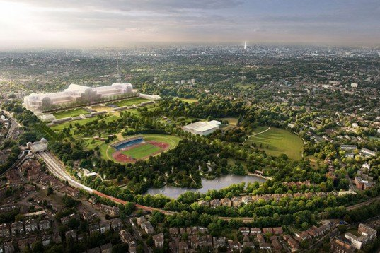 green design, eco design, sustainable design, Crystal Palace, Arup, ZhongRong Group, British Great Exhibition 1851