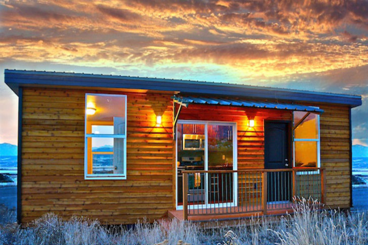 Zip kit homes are efficient streamlined prefab houses out for Small energy efficient houses