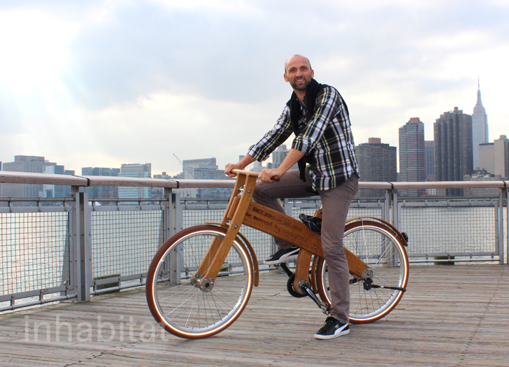 First Wooden City Bike by Bough Bikes Hits the Streets of NYC ...