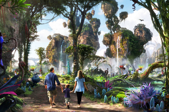 Avatar Land Park Inspired By Pandora Coming To Disney S